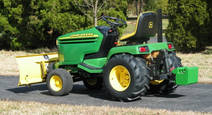 Big Tires On Garden Tractor : Ag tires on gx mytractorforum the friendliest